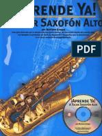 137139698 Metodo Sax Curso 2 Aprende Ya a Tocar Saxofon Alto Mariano Groppa
