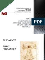 La Investigaciòn Artìsticas en Las Ciencias Humanas- Universidad Del Zulia - Feda