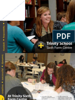Trinity School Sixth Form Prospectus 2015
