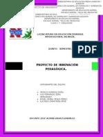Proyecto de Innovación Pedagógica