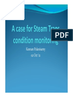 A Case for Condition Monitoring for Steam Traps