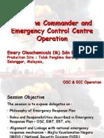 on-Scene Commander (OSC) and Emergency Control Centre (ECC) Training - Proposal