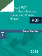 Llenado Pdt 621 Asesor Empresarial