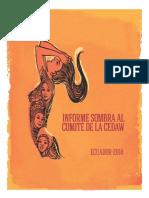 Informe Sombra Al Comité de La CEDAW ECUADOR Nov 2014