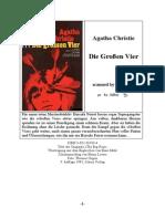 Christie Agatha-Die Grossen Vier