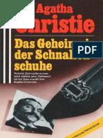 Christie, Agatha - Das Geheimnis Der Schnallenschuhe