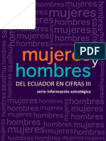 Mujeres y Hombres Del Ecuador en Cifras III 2013 INEC
