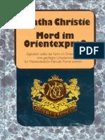 Christie, Agatha - Mord Im Orientexpress