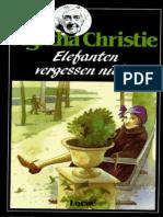 Christie Agatha - Elefanten Vergessen Nicht