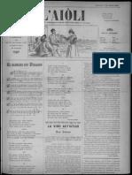 L'Aiòli. - Annado 06, n°187 (Mars 1896)