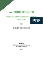 HISTOIRE D'ALGER SOUS LA DOMINATION TURQUE (1515-1830).pdf