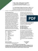 Ocds Newsletter Jan 2010