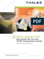NShield Microsoft ADCS and OCSP Windows Server 2012 Ig