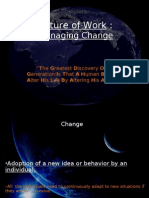 Future of Work- Mastering Change