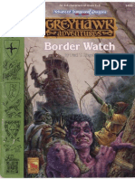 Adventure - Greyhawk - Border Watch (Lvl 1-3)