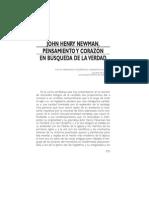14 - John Henry Newman. Pensamiento y Corazón en Búsqueda de La Verdad