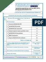 ISO 9001 2015 Training