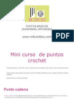 Mini Curso de Puntos Básicos Crochet