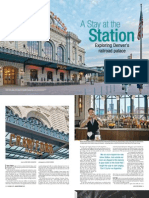 A Stay at the Station, exploring Denver's railroad palace