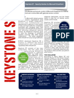 Planning Keystone SP Data Sheet