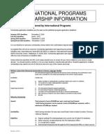 ScholarshipApplication FSU