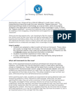 flipped classroom instructional booklet