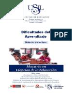 Manual Dificultades Del Aprendizaje 2015