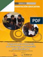 5 Propuesta Para El Desarrollo de La Estrategia de Orientacion Entre Estudiantes