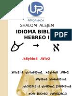Hebreo Biblico I Lección 2