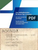 20141014 Metadonnes UdM Diffusion