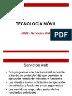 J2ME ServiciosWeb