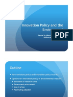 Innovation Policy and the Environment