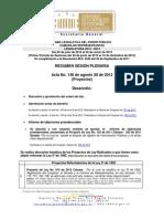 Resumen-Plenaria-Proyectos (2012-08-28) (Acta N°148) (1).pdf