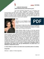 Curso de Sexualidad Capítulo 10 Casos Especiales 1era Parte