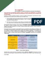 Documento Parches o Upgrade