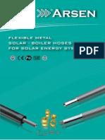 Solar Boiler System Hoses Catalogue Arsenflex
