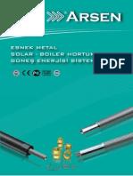 Solar Boiler Sistem Hortumu Katalog Arsenflex