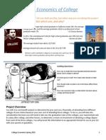 economics of college project doc 2015 college econ ver