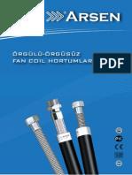 Fan Coil Hortumu Katalog Arsenflex