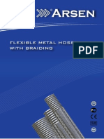 Metal Hose With Braiding Catalogue Arsenflex