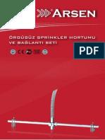 Sprinkler Hortumu Orgusuz Katalog Arsen Usp