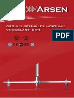 Sprinkler Hortumu Orgulu Katalog Arsen Sp