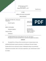 City of Chicago v. Eychaner, No. 05L050792 (Ill. App. Jan. 21, 2015)