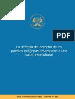 Informe Defensorial N 169 Derecho Pueblos Indigenas Salud Intercultural