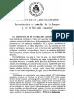 La Lengua de Los Antiguos Canarios- Werner Vycichil