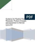 Guidance on Re Purposing Pipelines