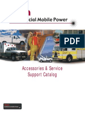 Onan Accessories & Service Support Catalog | Mains