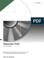 Sony RDR-HX750 Rekorder DVD - Instrukcja obsługi PL