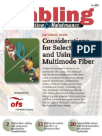 Considerations for Selecting and Using Multimode Fiber