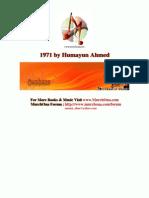 1971 by Humayun Ahmed